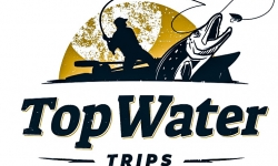 Top Water Trips Logo linked to our 'About Us' page offering Fly FIshing, Kayaking, Camping, & Dining options in the greater philadelphia area