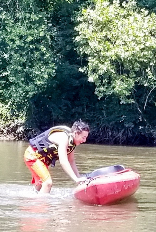 Kayaking Lesson with Top Water Trips on The Schuylkill River