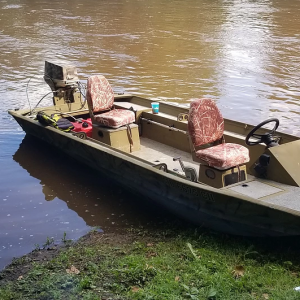 jet-boat-fishing and camping trips on the schuylkill river for smallmouth with top water trips