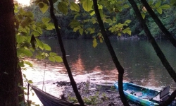 Kayak Fishing for Smallmouth on Top Water Trips camping Services