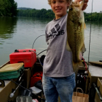 Bass Fishing Lessons with Top Water Trips on Blue Marsh Lake