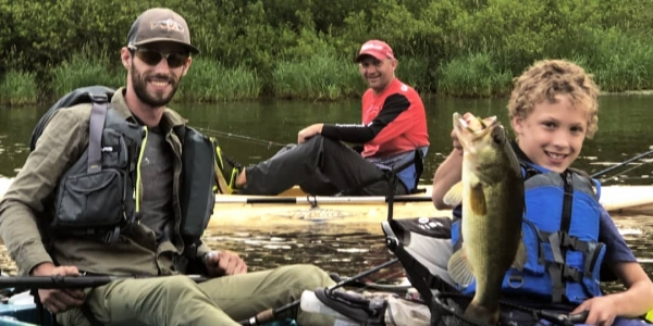 Fishing Guide Services with Top Water Trips in Pennsylvania on Marsh Creek