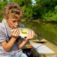 Kids Fishing Lessons with Top Water Trips