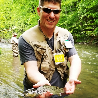 Fly Fishing Lessons With Top Water for Trout on French Creek