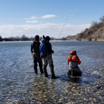 Little Schuylkill River & Schuylkill River Backpack Fly Fishing Trips and Camping Trips with Top Water