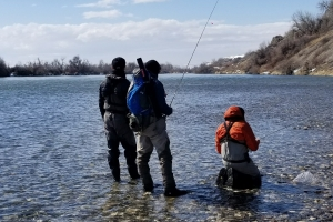 Little Schuylkill River & Schuylkill River Backpack Fly Fishing Trips and Camping Trips with Top Water Trips Guide Service