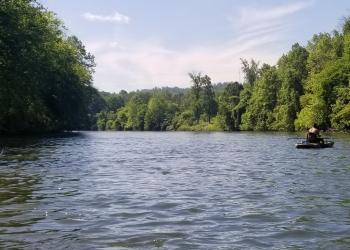 Client & Business Fishing Trips along the Schuylkill River with Top Water Trips