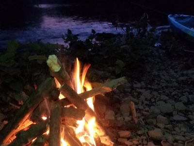 Team Building Camping Trips on the schuylkill river with top water trips