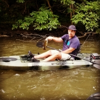 Kayak Fishing with Top Water Trips Fishing Charter and Guide Service in Pennsylvania