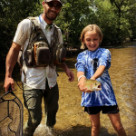 Fly Fishing Lessons with Top Water Trips