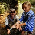 Top Water Trips Fishing Guide Kevin Moriarty on a Trout Fishing Trip