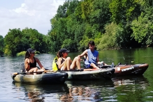 Family Kayak Rental on the Schuylkill River with Top Water