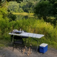 Adult Fishing Lessons on the banks with Top Water Trips in Pennsylvania