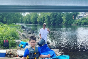 Kayak Camping Trips on the Schuylkill River with Top Water Trips
