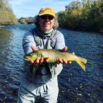Guided Fly Fishing Trips with Top Water Trips in Pa