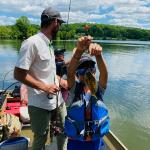 Marsh Creek Lake Kids Fishing Lesson with Top Water Trips